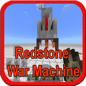 Add-on Redstone War Machine MCPE 1.0.0