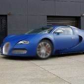 Wallpaper Bugatti Veyron Bleu 1.0