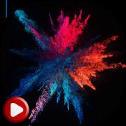 Colorful Powder Live Wallpaper 4.0