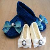 crochet pattern slippers 2.0