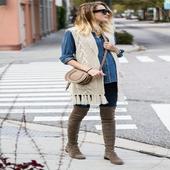 crochet women vests