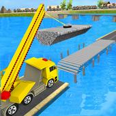 River Bridge Construction: Heavy Machinery 1.0