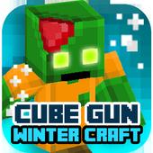 Cube Gun 3D : Winter Craft 1.0
