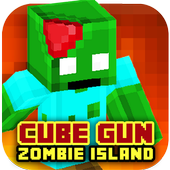 Cube Gun 3D : Zombie Island 1.0
