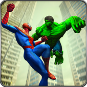 Incredible Monster vs Super Spiderhero City Battle 1.6