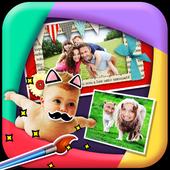 Cute Kids Family Selfie 1.0