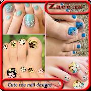 Cute toe nail designs 1.0