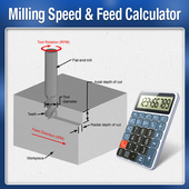 Milling Speed Feed Calculator 1.0