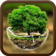 Green Nature HD Theme: Comic Android themes FREEBest Android Themes WorkshopArt & Design