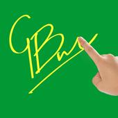 Finger Signature Screen 2.0