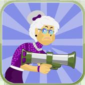 Angry Grandma - Run and Shoot 1.0