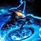 Blue Fire Rider LWP 2
