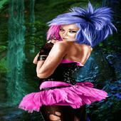 Pink Dress Girl LWP 2