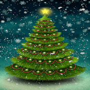 Snowy Christmas Tree LWP 2