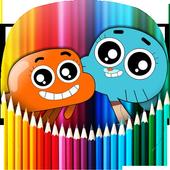 Gumballl Coloring Book for Darwin 1.2.2