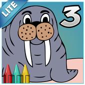 Coloring Book 3 Lite: Animals 1