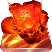 Fiery Rose Live Wallpaper 1.0