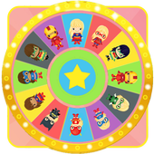 Wheel of Surprise Eggs Superhero Girls: Super Girl 1.1