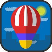 hot air balloon - flying 1.2