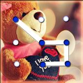 Teddy Bear Pattern Lock Screen 1.0