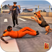 Police Dog Chase Mission Game 1.0