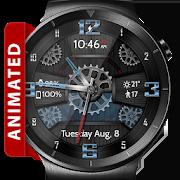 Wooden Gears HD Watch Face Widget & Live Wallpaper 4.9.4