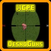 DesnoGuns Mod for Minecraft 0.15.4.