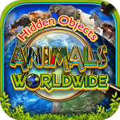 Hidden Objects Animal World - Puzzle Object Games 1.3
