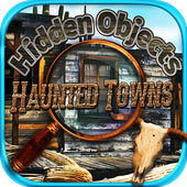 Hidden Objects Haunted Mystery Ghost Towns Puzzle