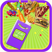 Kids Meal Maker - Lunch Food & Candy Cooking Game