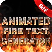 Animated Fire Text Generator : Flaming Text 1.0