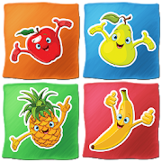 Fruits Memory Game for kidsOwlet games for kidsPuzzleBrain Games