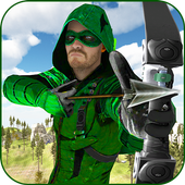 Green Arrow Hero: Crossbow Archery Superhero 1.1