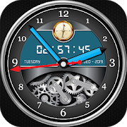 Luxury Watch Analog Clock Live Wallpaper Free 2018 3.1 icon