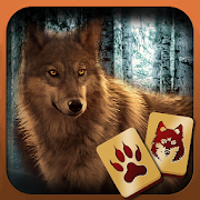 com.dg.puzzlebrothers.mahjong.wolves icon