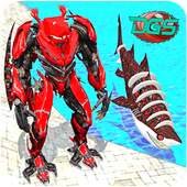 Transformation Robot Shark Game:Shark Simulator 1.0