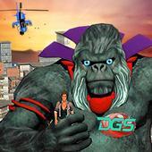 Wild Apes City Attack Revenge:Mad Gorilla Rampage 1.0