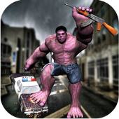 Incredible Superhero Monster City Battle 1.0