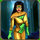 Real Spider Superhero Girl: City Monster Battle 1.1
