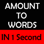 Amount to Words In 1 Second 1.1
