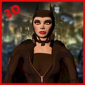 Super Girl Bat: Woman fighting Hero War 1.1