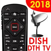 Remote for  DISH TV - remote SET TOP BOX