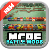 Battle MODS for mcpe 1.0