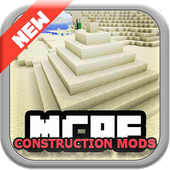 Construction MODS for mcpe 1.0