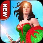 Grand Superhero Wonder Warrior Girl Fighter Game 1.0