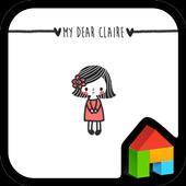 My Dear Claire 도돌런처 테마 4.1