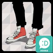 빨간 새신발 카카오톡 테마 4.0