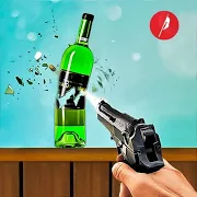 Real Bottle Shooting Free Games 2.1