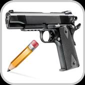 How To Draw Gun 1.0