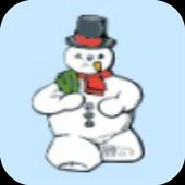 Snowman Link Match Game - Free 1